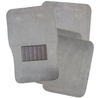 Oxgord Grey Car Floor Mats (Set of 4)