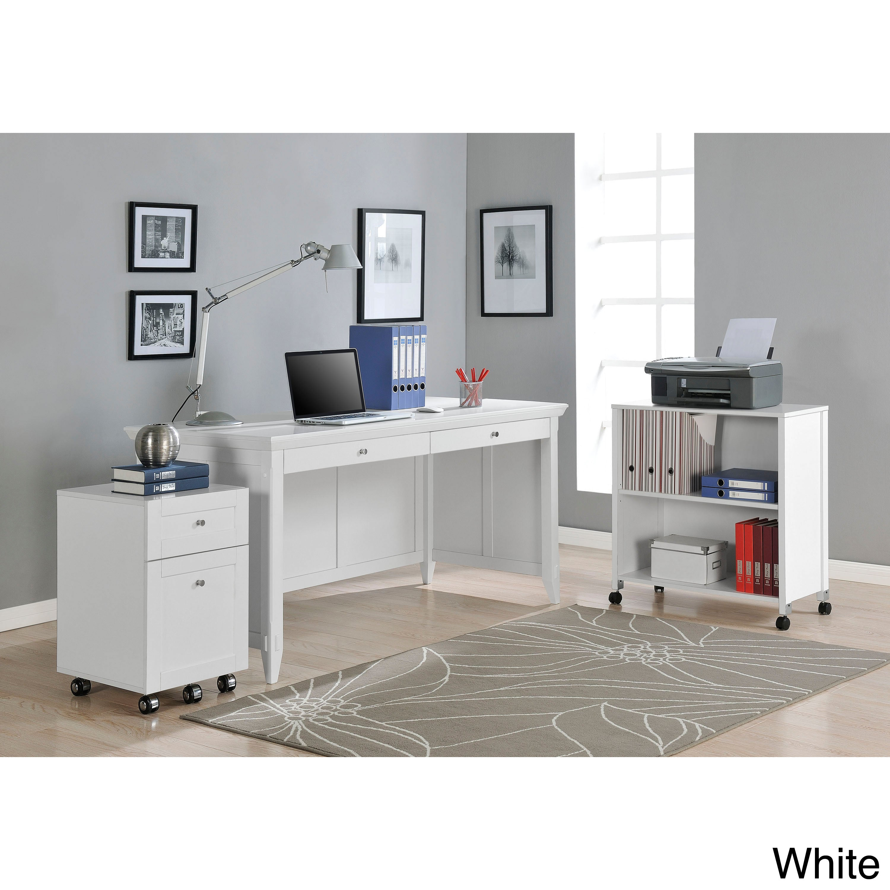 Altra Amelia Desk with Mobile Storage Cube and File at Sears.com