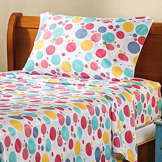Bubbles Kids 300 Thread Count Cotton Sheet Set