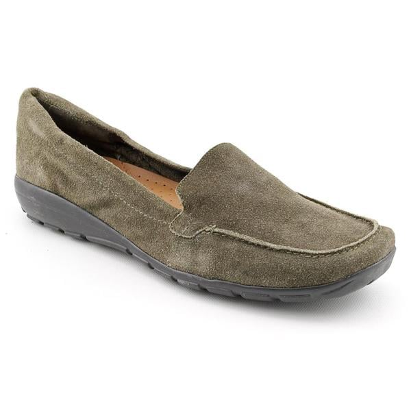 Easy Spirit Women's 'Abide' Regular Suede Casual Shoes - Extra Wide (Size 8.5)