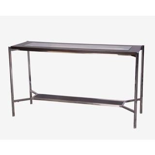 Lucca Wenge Finish Console Table