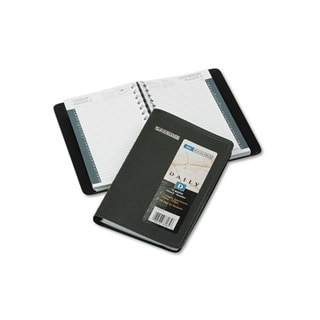 2013 Recycled Black Daily Appointment Book (4 7/8 x 8)