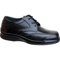 Men's Apex Ambulator Biomechanical Stitched Oxford Black Leather