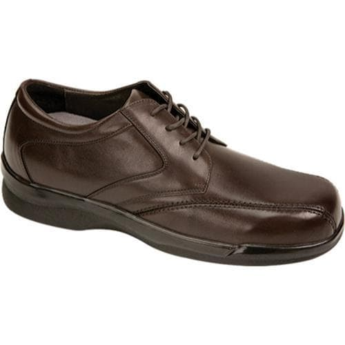 Men's Apex Ambulator Biomechanical Stitched Oxford Brown Leather