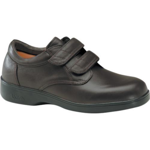 Men's Apex Ambulator Conform Double Strap Brown Smooth Leather