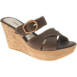 Women's Azura Regatta Brown Leather