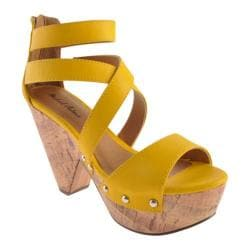 Women's Michael Antonio Globe 2 Yellow PU