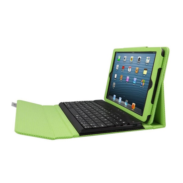 iPad mini Case with Detachable Bluetooth Keyboard - Lime Via Ergoguys