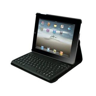 iPad Case Detachable Bluetooth Keyboard for iPad 2-4 - Black Via Ergo