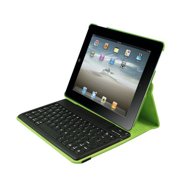 iPad Case Detachable Bluetooth Keyboard for iPad 2-4 - Lime Via Ergog