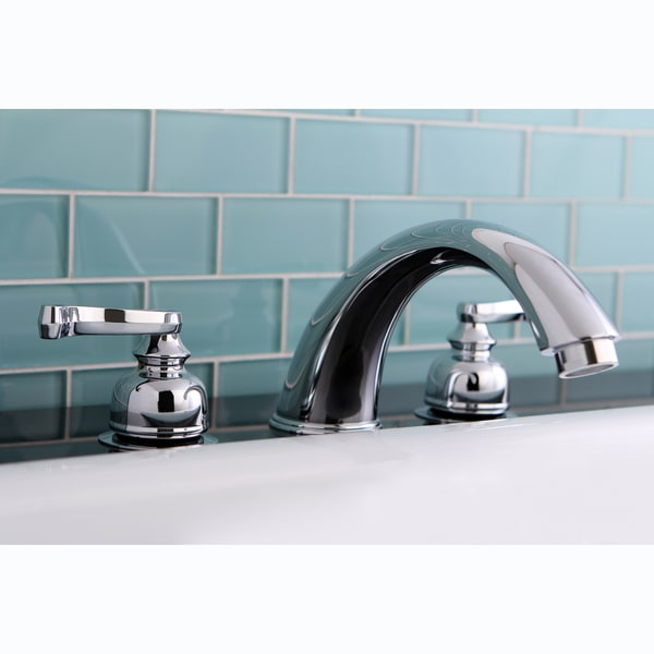 Chrome Roman Tub Filler Faucet