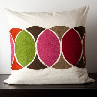 Cadrian Circles 18-inch Decorative Pillow