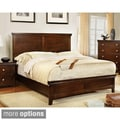 Furniture of America Tranzio Natural Queen-size Bed