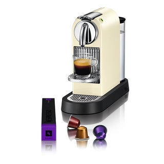 Nespresso D110 CitiZ Creamy White Espresso Maker (Refurbished)