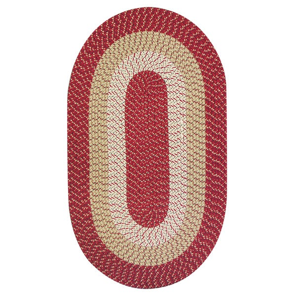 Eastern Crimson Indoor/ Outdoor Rug (8' x 11')