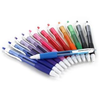 Paper Mate Retractable Gel Ink Medium Point Pens (Pack of 12)