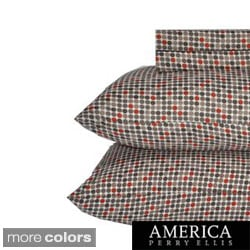 Perry Ellis Jordon Dot Sheet Set