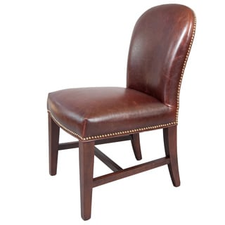 Belmont Leather Dining Chairs (Set of 2)