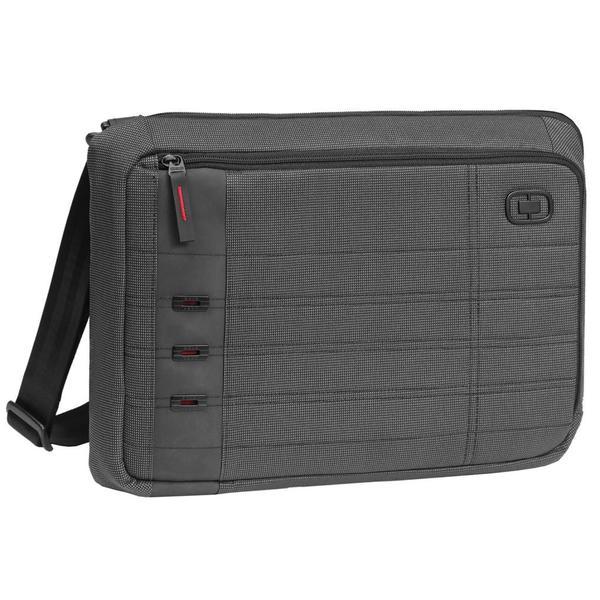 OGIO Black Pindot Consul 15-inch Laptop Messenger Bag