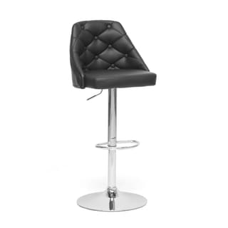 Salzburg Black Modern Bar Stool