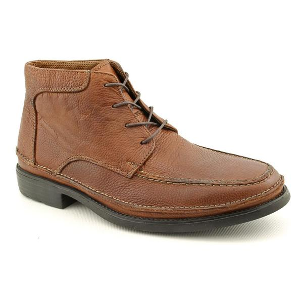 Hush Puppies Men's 'Cast' Leather Boots - Wide