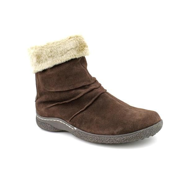 Wanderlust Women's 'Oslo' Suede Boots - Wide (Size 10)