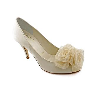 Bridal by Butter Women's 'Corsage' Satin Dress Shoes
