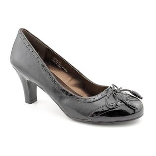 Andiamo Women's 'Hallie' Synthetic Dress Shoes - Extra Wide (Size 6)