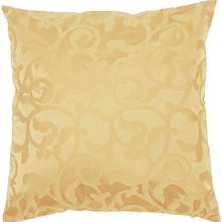 Bella Gold Jaquard 18-inch Decorative Down Pillow