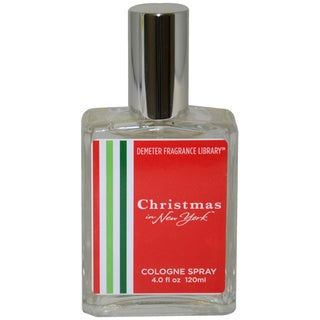 Demeter Christmas In New York Unisex 4-ounce Cologne Spray