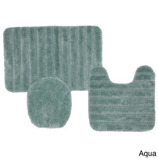 Prestige Non-skid Bath 3-piece Rug Set