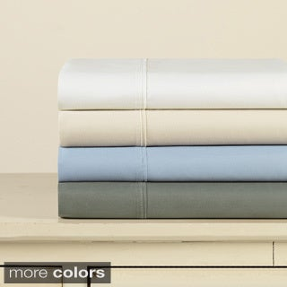 Eddie Bauer Solid Sateen 6-piece Sheet Set