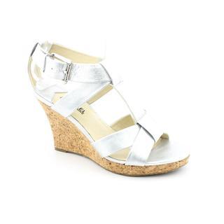 Michael Kors Women's 'Kay Wege' Leather Sandals