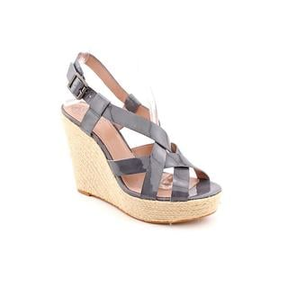 Vince Camuto Women's 'Hattie' Gray Patent-Leather Sandals