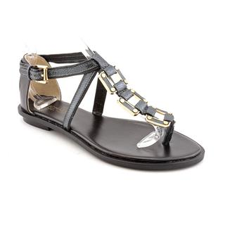 Michael Kors Women's 'Darci' Leather Sandals (Size 8)