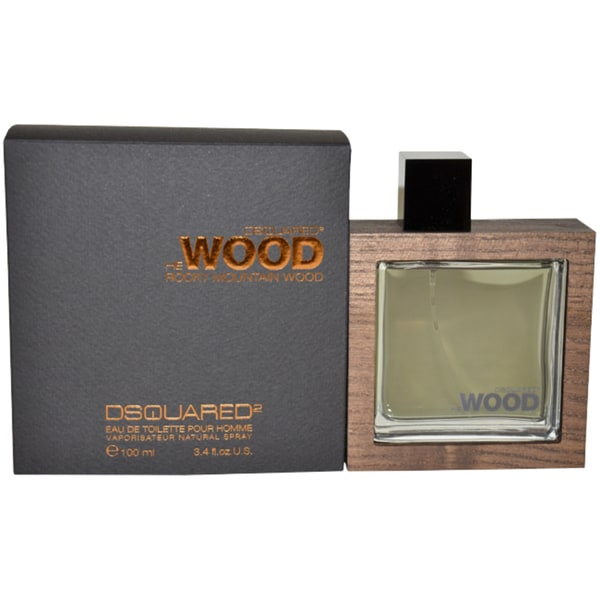 Dsquared2 He Wood Rocky Mountain Men's 3.4-ounce Eau de Toilette Spray