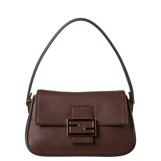 Fendi 'Mamma' Leather Shoulder Bag