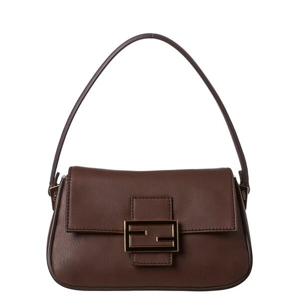 Fendi 'Mamma' Leather Shoulder Bag