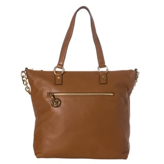 MICHAEL Michael Kors 'Fulton' Leather North South Tote Bag