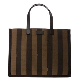 Fendi &#39;Pequin&#39; Shopping Tote