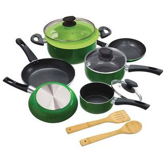 Elements Greeen 12-piece Ecological Cookware Set