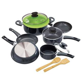 Elements Grey 12-piece Ecological Cookware Set