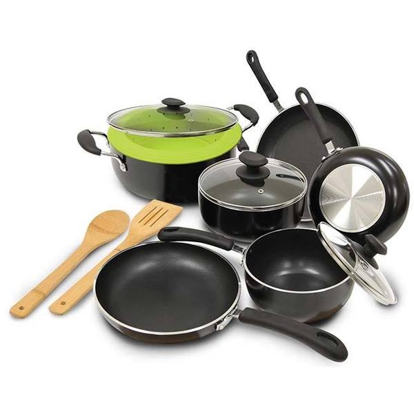 Epoca Heavy Weight 12-piece Cookware Set