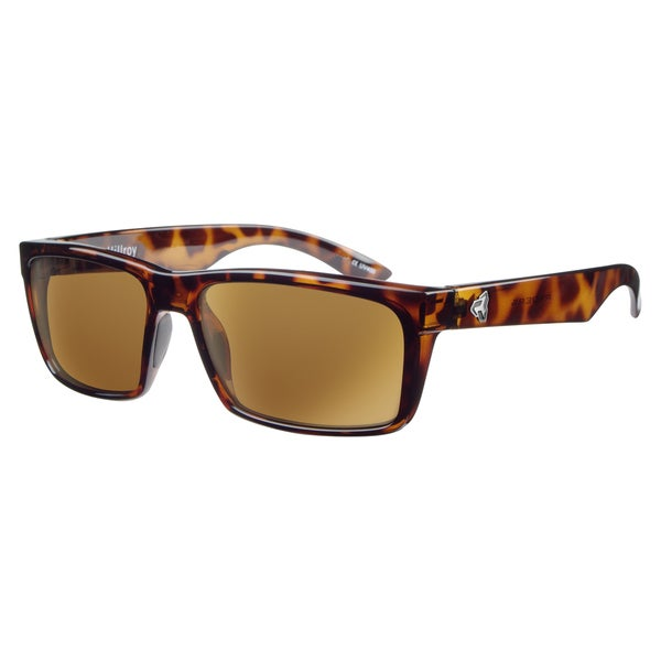 Ryders 'Hillroy' Brown Square Sunglasses