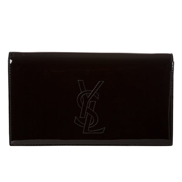 Yves Saint Laurent 'Belle du Jour' Patent Leather Clutch