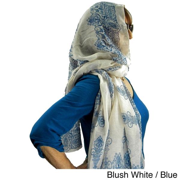 East Indian Rangoli Fashion Scarf/Beach Wrap