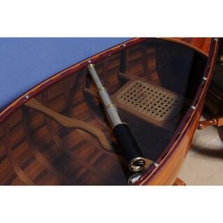 Handheld Telescope in Wooden Case
