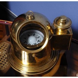 Old Modern Handicrafts Large Binnacle Compass