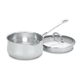 Cuisinart Contoured 2-quart Pour Spout Saucepan with Cover