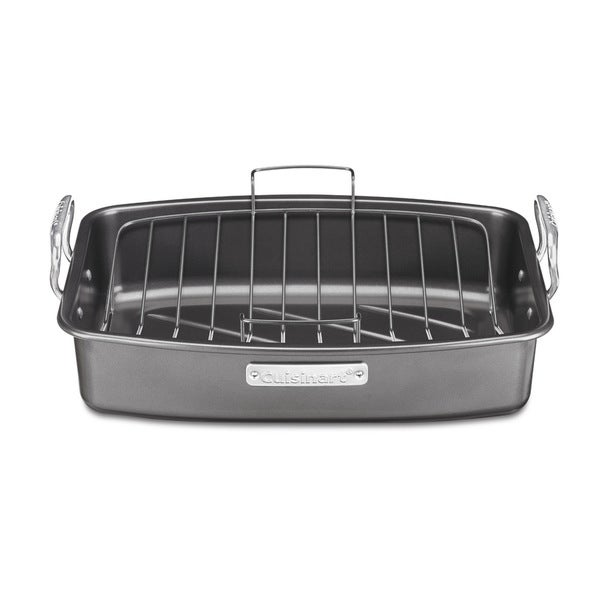 17 x 13 Non-Stick Roaster Pan with V-Rack